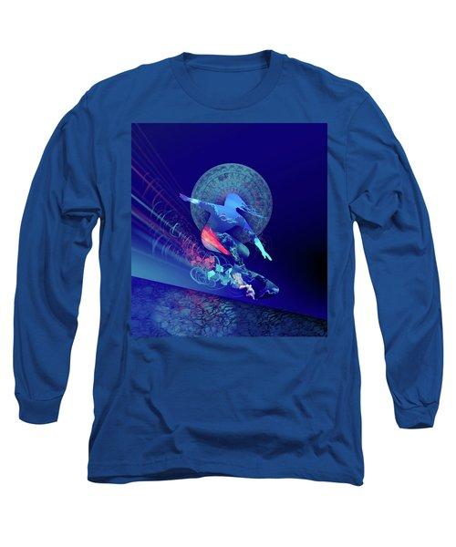 Galaxy Surfer 4 Long Sleeve T-Shirt