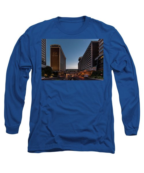 Long Sleeve T-Shirt featuring the photograph Galt House Hotel And Suites by Randy Scherkenbach
