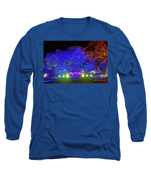 Long Sleeve T-Shirt featuring the photograph Garden Of Light By Kaye Menner by Kaye Menner