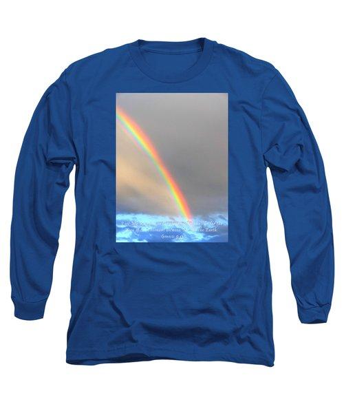 Long Sleeve T-Shirt featuring the photograph Genesis Rainbow by Lanita Williams
