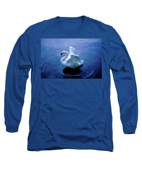 Gentle Strength Long Sleeve T-Shirt by Marie Hicks