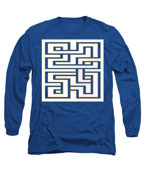 Geo 7 - Transparent Long Sleeve T-Shirt by Chuck Staley