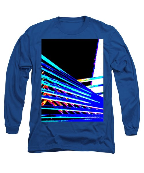 Geometric Waves Long Sleeve T-Shirt