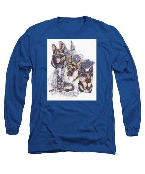 German Shepherd Medley Long Sleeve T-Shirt