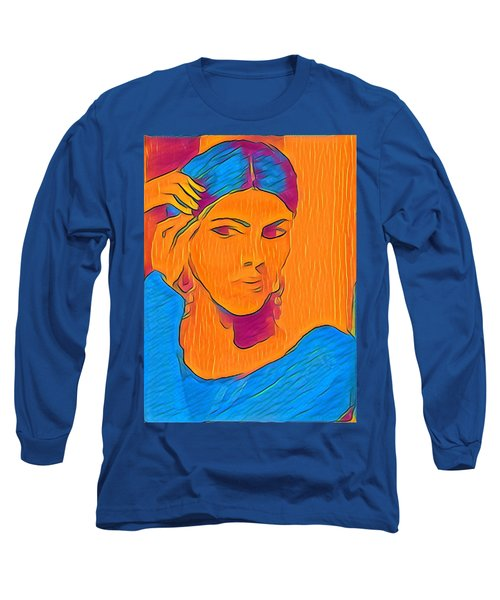 Getting Ready Electric Long Sleeve T-Shirt