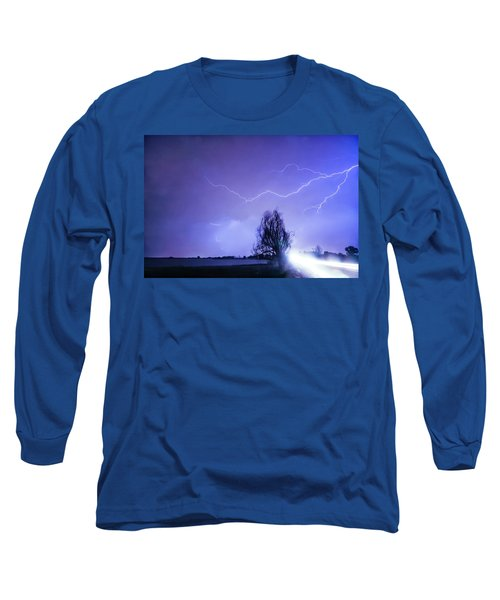 Long Sleeve T-Shirt featuring the photograph Ghost Rider by James BO Insogna