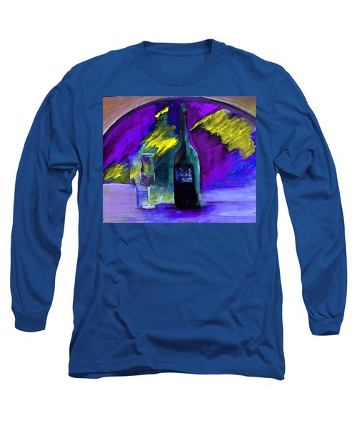 Ghost Wine Long Sleeve T-Shirt by Lisa Kaiser