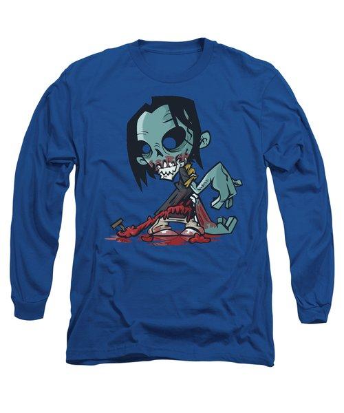 Ghoul T-shirt Long Sleeve T-Shirt by Herb Strobino