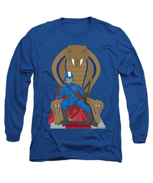 Gi Joe - Cobra Commander Long Sleeve T-Shirt