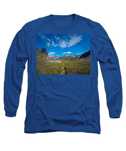 Glacier Wilderness Long Sleeve T-Shirt