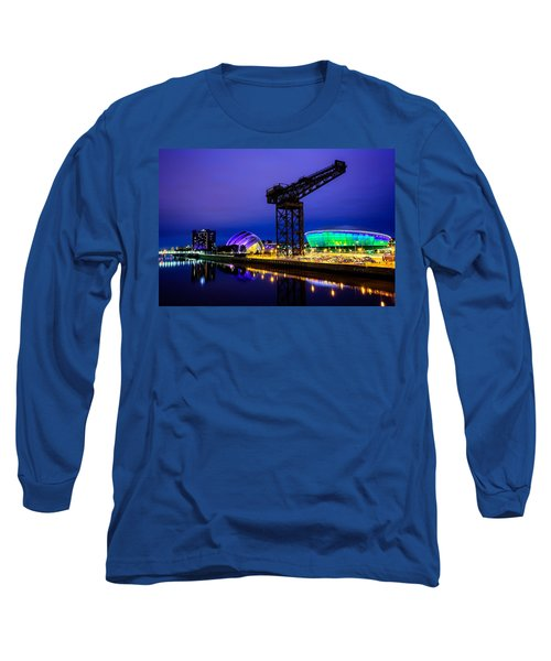 Glasgow At Night Long Sleeve T-Shirt
