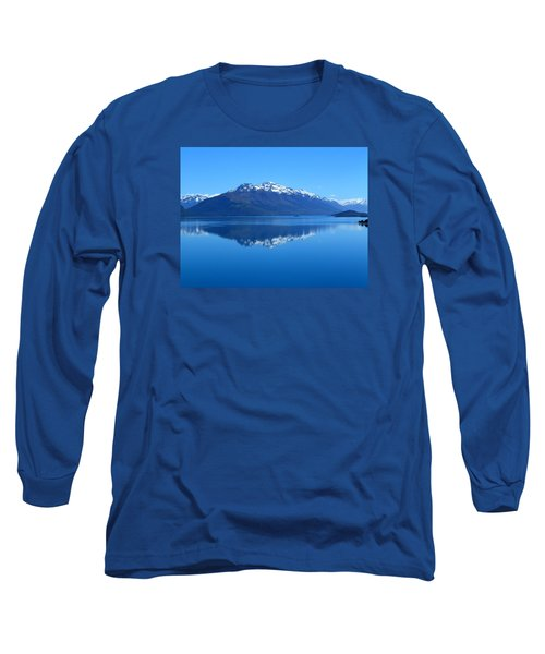Glenorchy Road New Zealand Long Sleeve T-Shirt