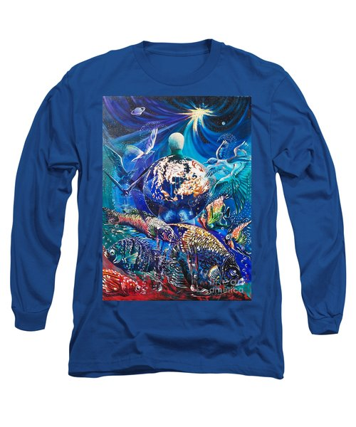 Planet  Earth - Our Family Tree Long Sleeve T-Shirt