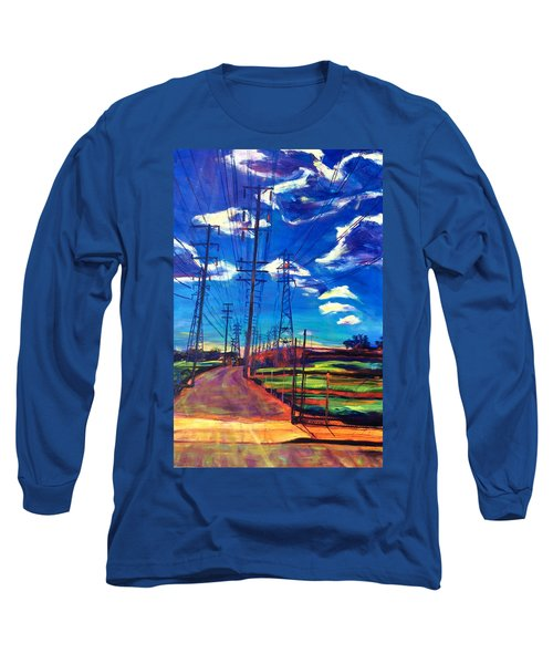 Glorious Afternoon Long Sleeve T-Shirt by Bonnie Lambert