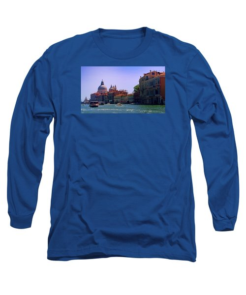 Long Sleeve T-Shirt featuring the photograph Glorious Venice by Anne Kotan