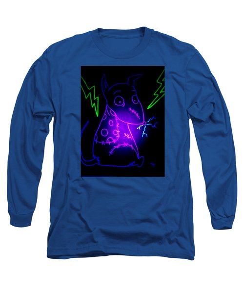 Glow Frankenweenie Sparky Long Sleeve T-Shirt