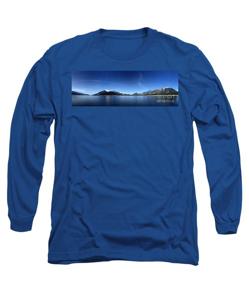 Long Sleeve T-Shirt featuring the photograph Glowing In The Blue by Victor K