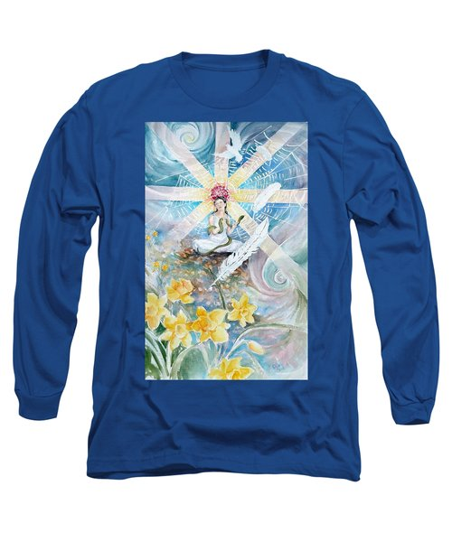 Goddess Awakened Long Sleeve T-Shirt
