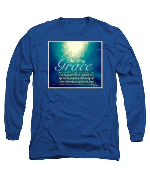 God's Amazing Gift Of Grace Long Sleeve T-Shirt