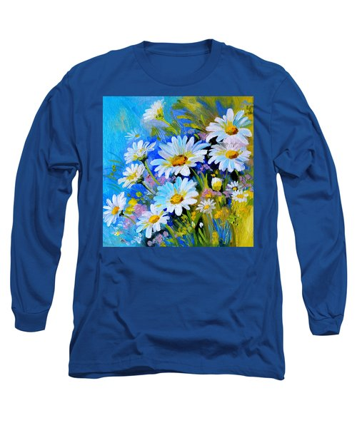 God's Touch Long Sleeve T-Shirt by Karen Showell
