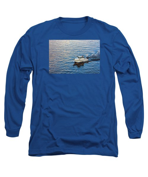 Going Fishing Long Sleeve T-Shirt by Lewis Mann
