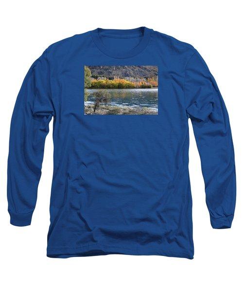 Gold Across The Water Long Sleeve T-Shirt