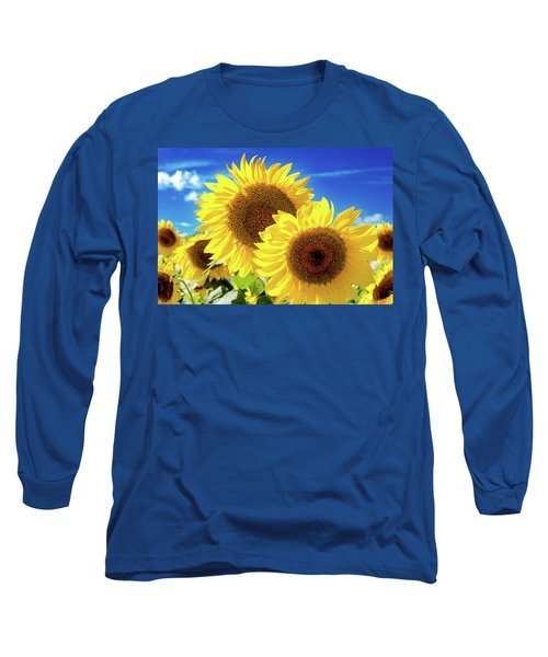 Long Sleeve T-Shirt featuring the photograph Gold by Greg Fortier