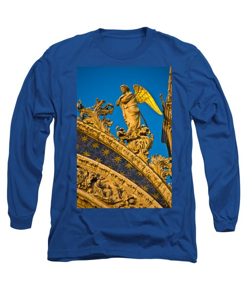 Golden Angel Long Sleeve T-Shirt by Harry Spitz