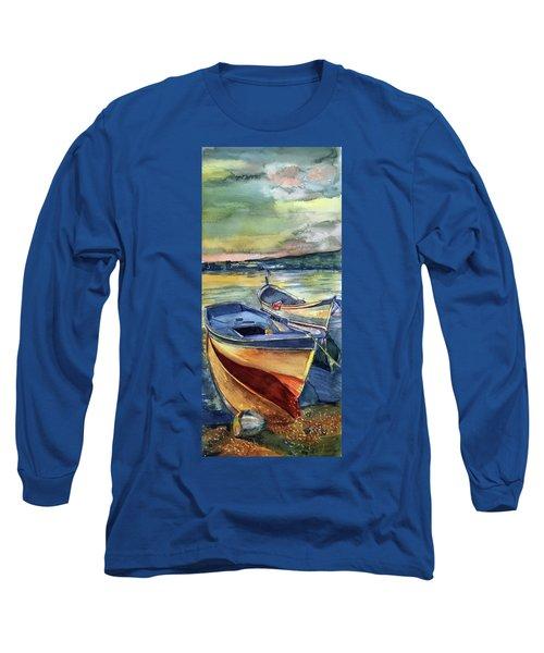 Golden Boats Long Sleeve T-Shirt