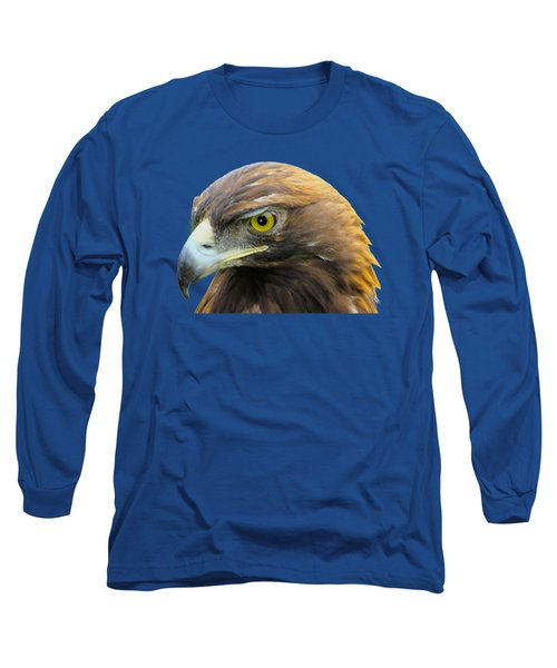 Golden Eagle Long Sleeve T-Shirt by Shane Bechler