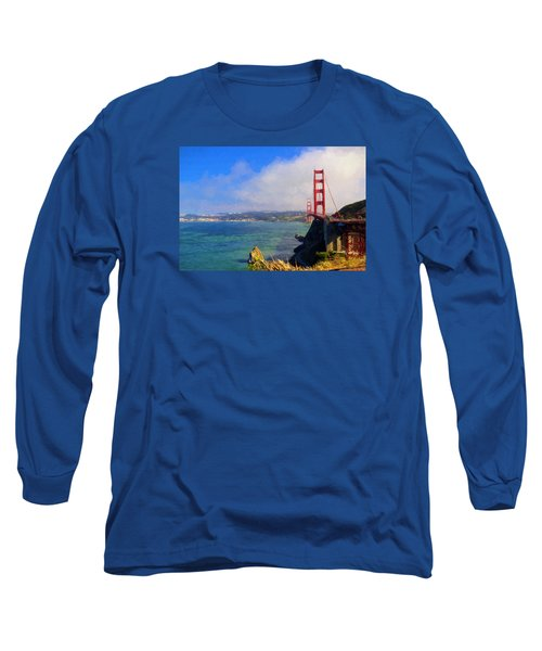 Golden Gate Long Sleeve T-Shirt by Greg Norrell
