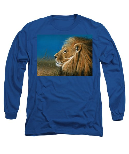 Golden Sentinal Long Sleeve T-Shirt