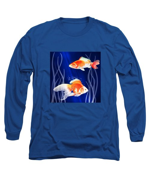 Goldfish Aglow Long Sleeve T-Shirt