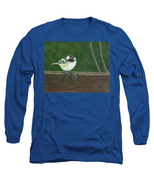 Good Morning Long Sleeve T-Shirt by Wendy Shoults
