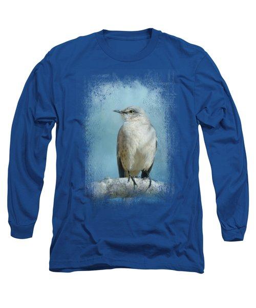 Good Winter Morning Long Sleeve T-Shirt by Jai Johnson