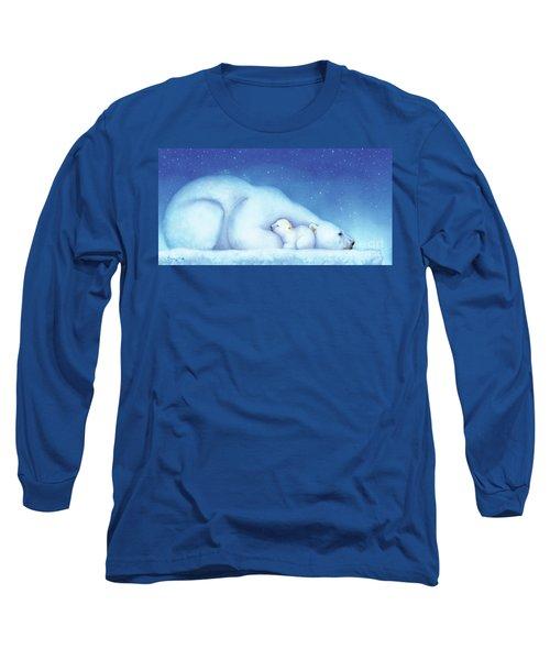 Arctic Bears, Goodnight Nanook Long Sleeve T-Shirt
