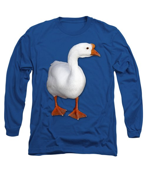 Goose Me Long Sleeve T-Shirt by Bob Slitzan