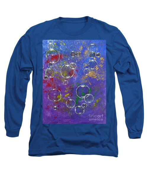 Graffiti Bubbles Long Sleeve T-Shirt