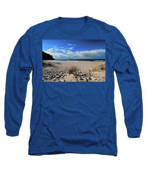 Great Barrier Island Long Sleeve T-Shirt by Karen Lewis