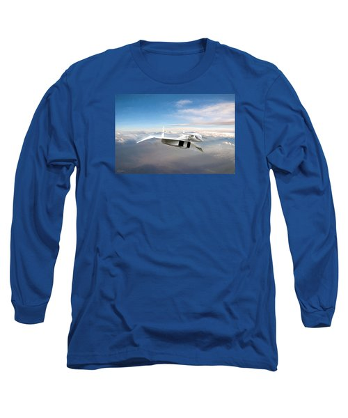 Great White Hope Xb-70 Long Sleeve T-Shirt by Peter Chilelli