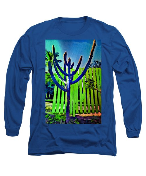 Green Fence Long Sleeve T-Shirt