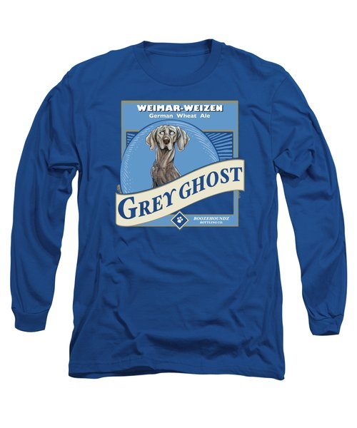 Grey Ghost Weimar-weizen Wheat Ale Long Sleeve T-Shirt