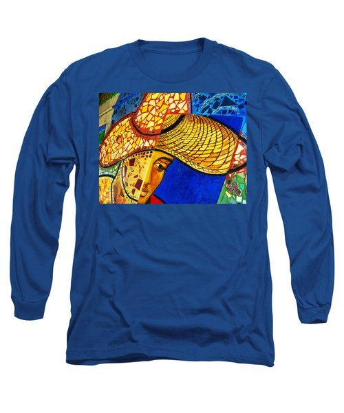 Growing Edgewater Mosaic Long Sleeve T-Shirt by Kyle Hanson
