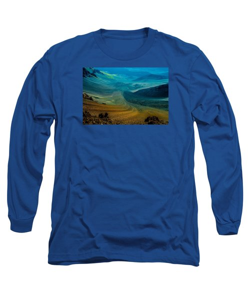 Long Sleeve T-Shirt featuring the photograph Haleakala by M G Whittingham