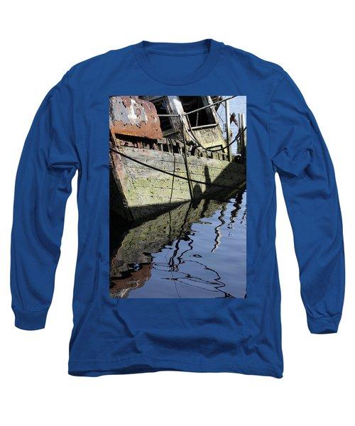 Half Sunk Boat Long Sleeve T-Shirt