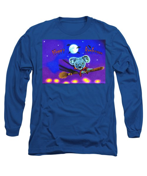 Halloween Koala, Happy Koalaween Long Sleeve T-Shirt