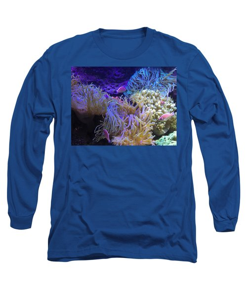 Long Sleeve T-Shirt featuring the pyrography Hanging Out by Michael Lucarelli