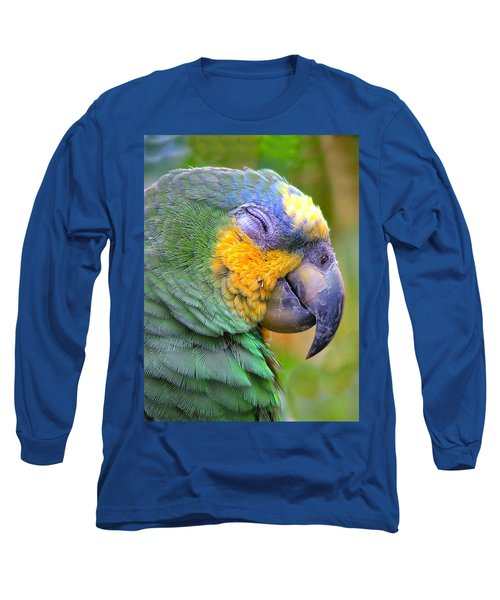Happy 2 Long Sleeve T-Shirt by Wendy McKennon