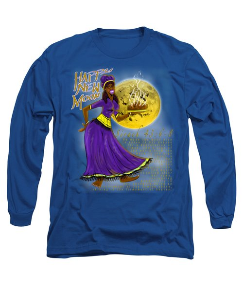 Happy New Moon Sirach 43 Long Sleeve T-Shirt