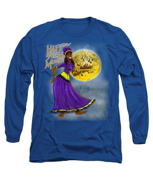 Happy New Moon Sirach 43 Long Sleeve T-Shirt
